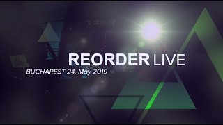 ReOrder Live at TRANCECODE - Bucharest, Romania - 25. May 2019