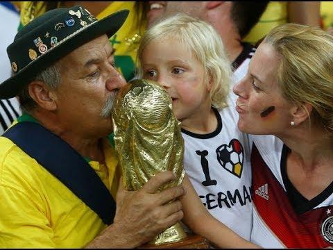 Brazil vs allemagne 1 - 7● BRAZIL'S LOSS = SADDEST MAN [FIFA World Cup 2014]