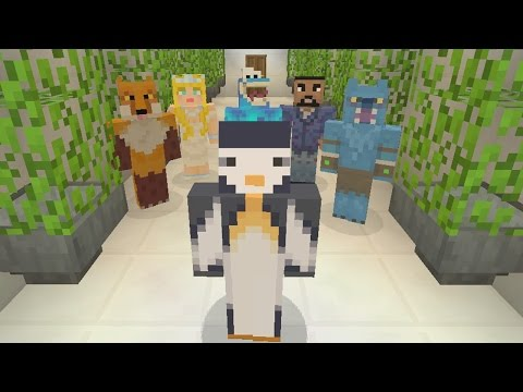 Minecraft Xbox - Murder Mystery - YouTubers Mansion