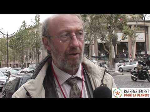 Conférence Environnementale 14/09/2012 - Interview d'André Cicolella