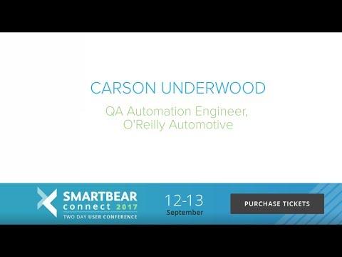 Carson Underwood  SmartBear Connect Speaker