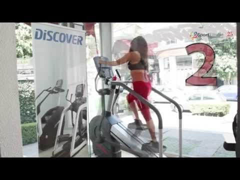 Checa la Summit Trainer de Life Fitness