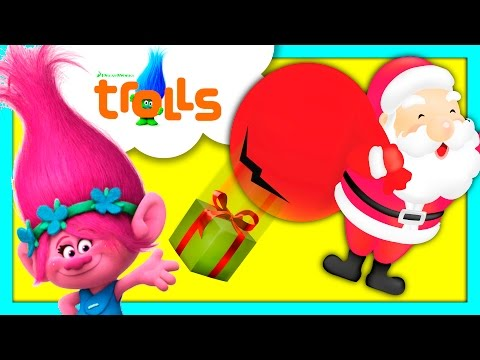 TROLLS Save Christmas By Helping Santa With Presents