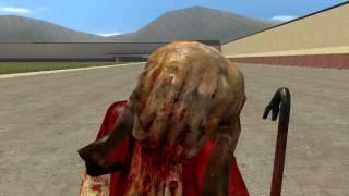 Небольшой обзор монстров из игры HL в Garry's mod