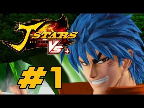 J-Stars Victory VS+ [PS4] - English Walkthrough Part 1 Investigation Arc [HD]