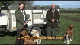 Initial Gundog Puppy Training With Adrian & Caroline Slater