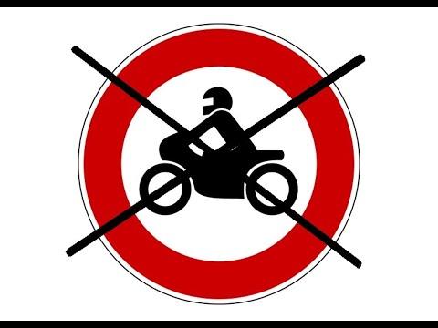 Полный запрет езды на мотоцикле по выходным дням и праздникам