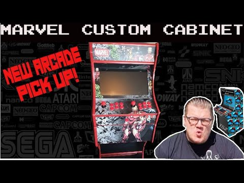 Marvel Arcade Custom Cabinet! New Cabinet Review! Multicade! 3188 in 1 UK Arcade1UP Next Best Thing from The Standard Zone