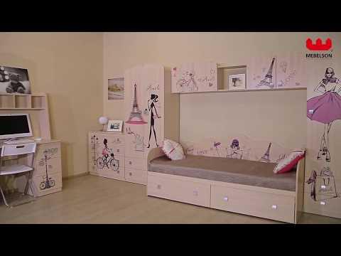 Модульная детская для девочек 'Амели'