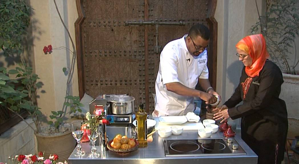 moroccan cuisine at la maison arabe's cooking workshops - youtube