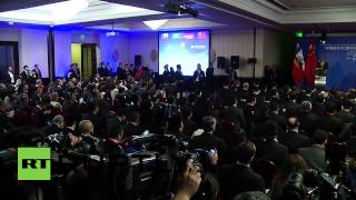 Chile: President Bachelet underlines importance of Chinese support in L. America