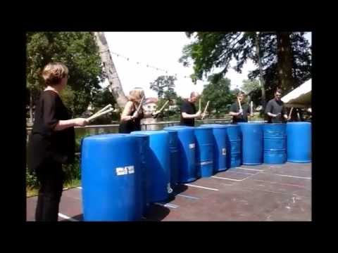 Percussions urbaines Lac Gagny 20 juin 2015