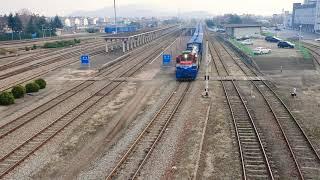 온산발 수색행 화물열차 #3472 경주역 발차 (DEL…