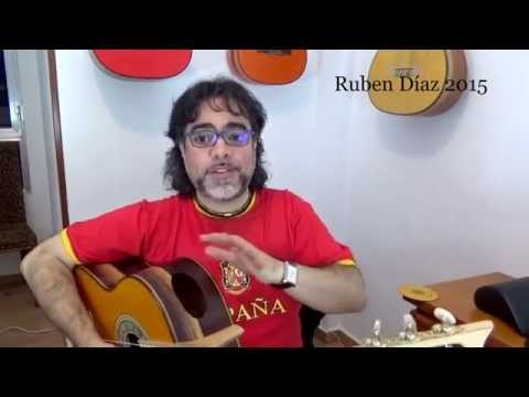 10 frequent prejudices about flamenco guitars which are just empty dogmas (5) Ruben Diaz Spain