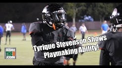 Southridge 2019 CB Tyrique Stevenson With Two Interceptions in Final Game