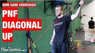 PNF Shoulder Diagonal Up Exercise - Arm Care Shoulder Program