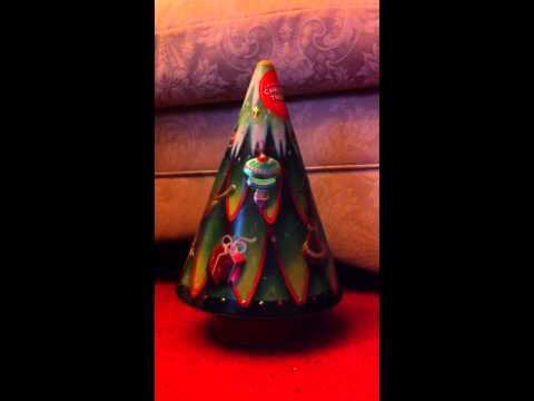 Marks & Spencer Musical Shortbread Tin Christmas Tree