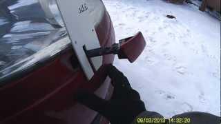 демонтаж омывателя фар Citroen C4 (версия 2)