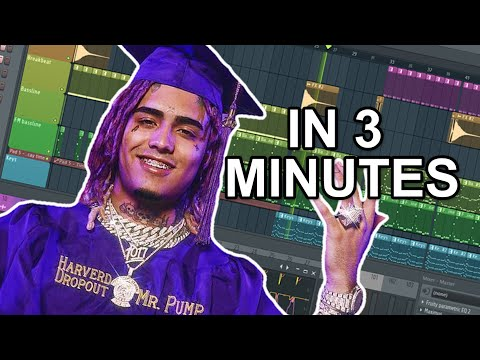 "How Lil Pump made ""Racks on Racks"" in 3 minutes"