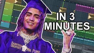"How Lil Pump made ""Racks on Racks"" in 3 minutes Video"