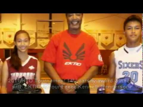 EKTIO Basketball on Guam - January 12, 2012 Press Release