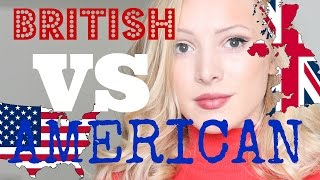 American VS British English Words