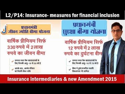 L2/P14: MicroInsurance, PM Jeevan Jyoti & Suraksha Bima Yojana