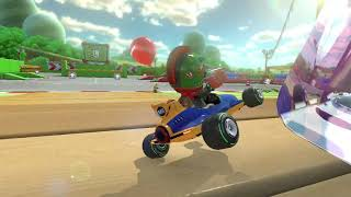 Silly Mario kart 8 deluxe battle Jon