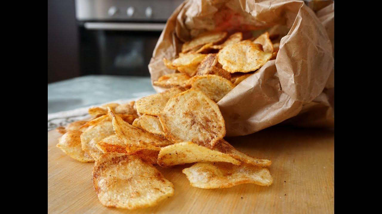 new arrival 12473 69612 Chips di patatine fatte in casa - Le video ricette di lara