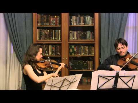 Handel-Halvorsen Passacaglia | Rysanov (viola), Osipova (violin)