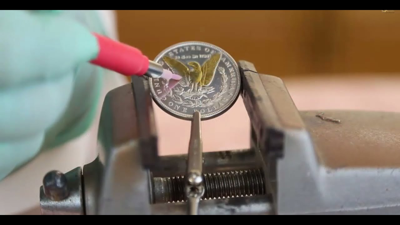 Real Gold Plating Onto Coins Gold Plating Made Easy