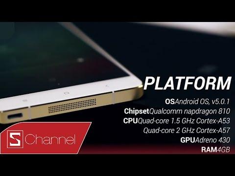 Schannel - Mở hộp Xiaomi Mi Note Pro : S810, RAM 4GB - Tự tin đối đầu iPhone 6 Plus, Galaxy S6 ....