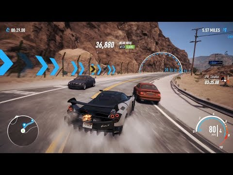 Need For Speed Payback – LV399 Pagani Huayra BC, Possibly the 3rd fastest race spec car