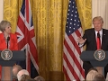 Trump addresses torture, Russia, Brexit