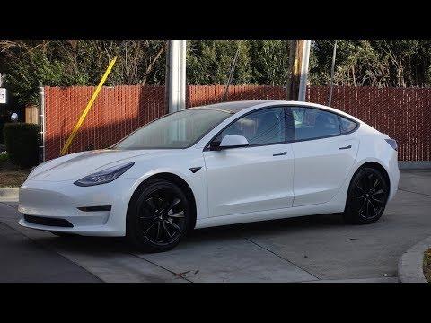 Tesla Model 3 - Stormtrooper - Chrome Delete, Powdercoat Wheels, Blackvue 750s