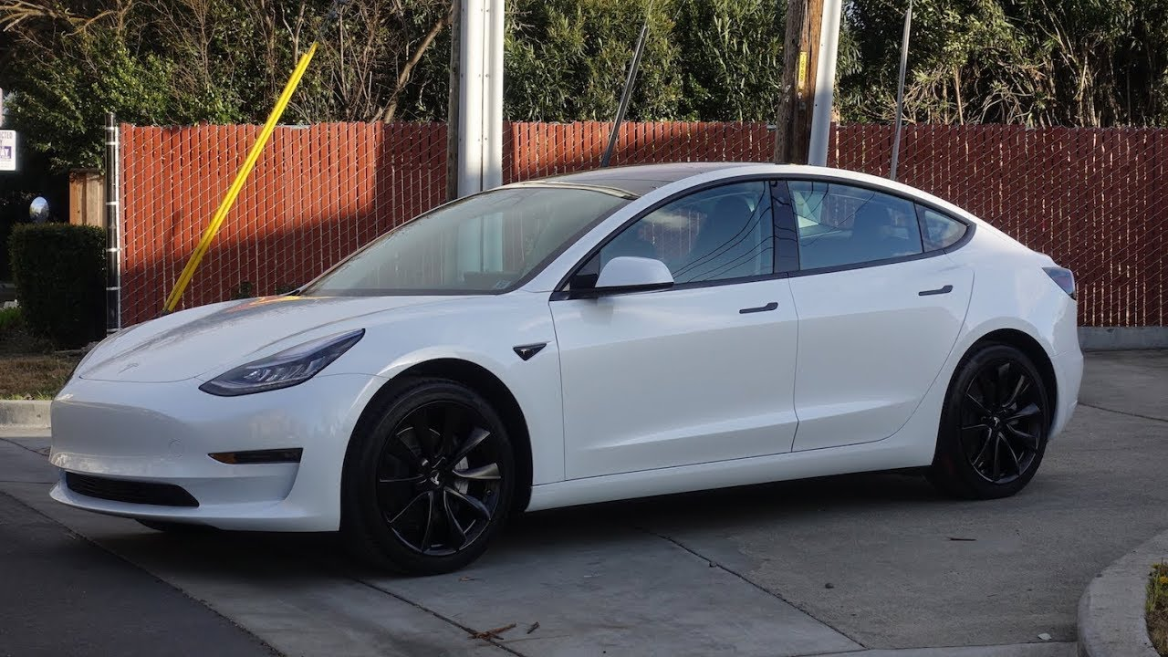 Tesla Model  Stormtrooper Chrome Delete Powdercoat Wheels Blackvue S
