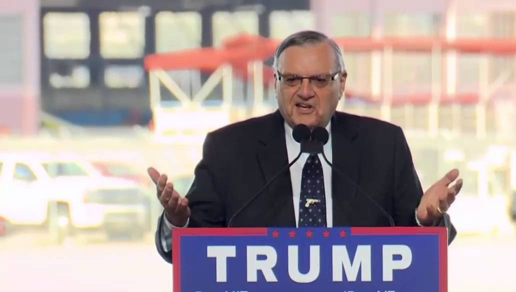 Image result for trump joe arpaio