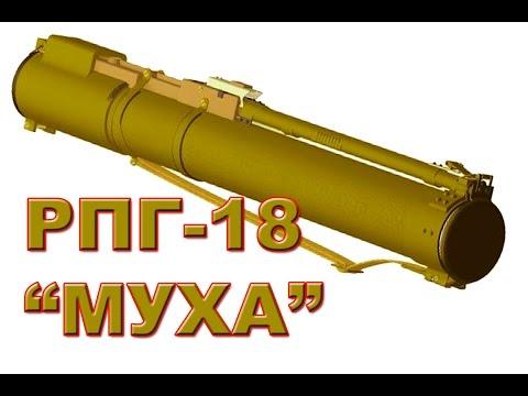 """Оружие России. РПГ-18. """"МУХА"""". Сделано в СССР"""