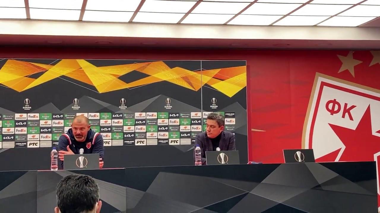 Dejan Stanković Ponosan Posle Remija Crvene Zvezde Sa Milanom | SPORT KLUB Fudbal