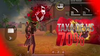 MOBILE COM TAXA DE EMULADOR⚡😼|FREE FIRE GALAXY A10📱