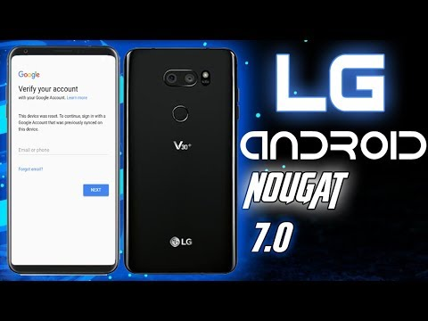 FRP LG 2018 BYPASS GOOGLE ACCOUNT ON ALL LG ANDROID 7 LATEST UPDATE