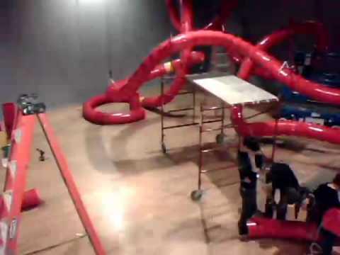OKCMOA - Jason Peters Timelapse Installation Video  - OKCMOA