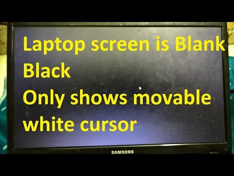Image Result For Laptop Screen Black Except For Mouse