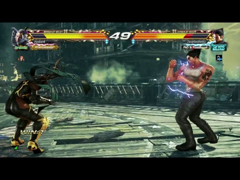 TEKKEN 7 - Kazuya Online Ranked Matches #1 - Climbing The Ranks! (1080p 60fps) PS4 Pro