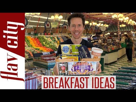 HUGE Breakfast Haul The Best Products To Buy For Easy Breakfast Ideas