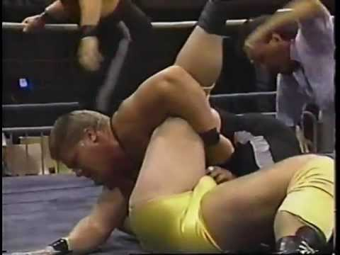 WCW Tag Team Match State Patrol vs Reno Riggins & Tim Powerhouse Parker