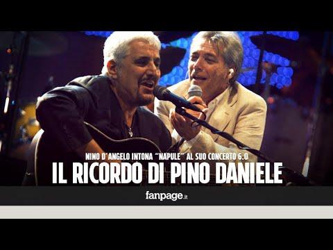 Nino D'Angelo canta Pino Daniele: la sua Napul'è emoziona il San Paolo