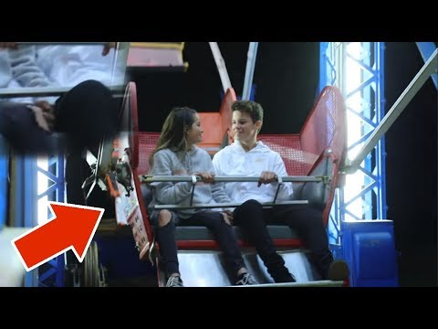 Annie LeBlanc HOLDING HANDS with Hayden On A Ferris Wheel