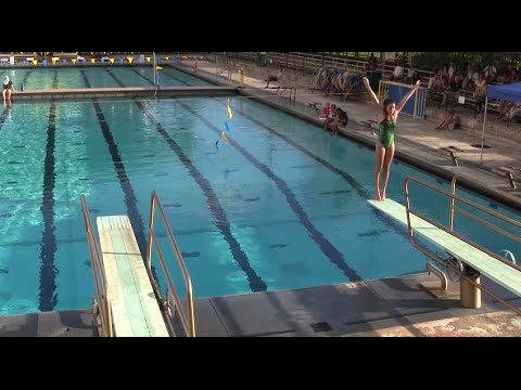 2015 Varsity Diving - Sandra Serai Invitational at Punahou School (January 17, 2015)