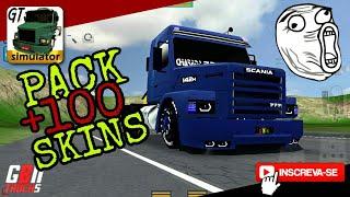 Pack De Skins Grand Truck Simulator +100